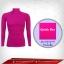 เสื้อรัดกล้ามเนื้อ รุ่นQuick Dry มีรูระบายอากาศ สีม่วง mediumorchid thumbnail 1