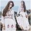 Lady Ribbon's Made Lady Florence Boho Chic Floral Printed Maxi Dress thumbnail 6