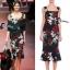 Cliona made' DG Roses Prininting Dress thumbnail 2