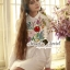 Seoul Secret Say's.. Nappy Color Bloosom Dress Shirt thumbnail 2