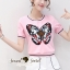 Seoul Secret Say's .... Sweety Chill Pink Knit Butterfly Set thumbnail 6