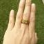 แหวนถมทอง ลายสุโขทัย หน้าสี่เหลี่ยม thumbnail 3