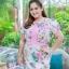 5XL ชุดเดรสสาวอวบ++ผ้าkorea print ทอลายดอกโทนสีชมพู จุดเด่นของชุดนี้ ดีไซน์กั๊กสุดเก๋ ติดโบว์ thumbnail 11