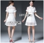 Lady Ribbon's Made Lady Taylor Sweet Preppy Collared White Lace Dress thumbnail 3