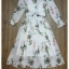 Posy print pintuck shirt dress by Sweet Bunny thumbnail 5