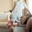 Seoul Secret Say's... Open Shiulder Lace Furnish Shirt Dress thumbnail 1