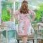 XL,2XL,3XL,4XL,5XLชุดเดรสสาวอวบ++ ชุดเดรสผ้าบุชเชอร์ ทอลายดอก โทนสีชมพู ผ้าเนื้อดีหนา สวมใส่สบาย thumbnail 21