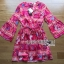 Lady Ribbon's Made Lady Jessie Tribal Chic Colorful Paisley Printed Dress thumbnail 5