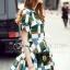 Cliona made' Grammy Square Line Shirt Dress thumbnail 6