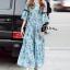 Cliona Made' Provence Floral Line Long Dress thumbnail 2