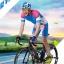 **สินค้าพรีออเดอร์**ชุดจักรยานคุณภาพดี Lambda (เสื้อแขนสั้น + กางเกงปั่นจักรยาน) thumbnail 3
