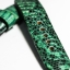 Green Genuine Leather Back Lizard Leather Watch Strap Pam Buckle 24/20 mm thumbnail 6