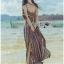 Lady Emma Sexy Summer Paisley Printed Maxi Dress thumbnail 4