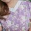 XL,3XL,5XL ชุดเดรสสาวอวบ++ผ้า Canvas TM พื้นม่วงลายดอก จุดเด่นของชุดนี้ ดีไซน์คอวีสุดเก๋ thumbnail 24