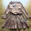 Lady Ribbon's Made Lady Eva Military Inspired Pleated Shirt Dress สีน้ำตาลคาเมล thumbnail 5