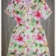 Zip neck floral dress by Sweet Bunny thumbnail 5