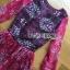 Lady Ribbon's Made Lady Estelle Summery Colourful Printed Chiffon Dress thumbnail 7