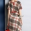 Seoul Secret Say's... Burberry Red Ribbon Dress thumbnail 3