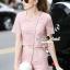 Seoul Secret Say's... Pastel Pink Circlely Lace Stylish Set thumbnail 1