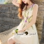Seoul Secret Say's... Violatta Bloom Creamy Cami Dress thumbnail 1