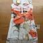 Lady Kimberley Smart Casual Holiday Orange Flower Printed Chiffon Dress thumbnail 4