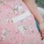 XL,3XL,5XLชุดเดรสสาวอวบ++ผ้า Canvas TM พื้นชมพูลายดอก จุดเด่นของชุดนี้ ดีไซน์คอวีสุดเก๋ thumbnail 22