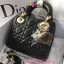 Dior lady mini 7 นิ้ว สีดำ งานTOP MIRRORเกาหลีระดับHiend thumbnail 4