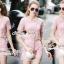 Seoul Secret Say's... Pastel Pink Circlely Lace Stylish Set thumbnail 5