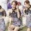 Seoul Secret Say's... Nista Party Flora Stickly Lace Dress thumbnail 4