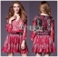 Lady Ribbon's Made Lady Estelle Summery Colourful Printed Chiffon Dress thumbnail 3