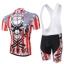 **สินค้าพรีออเดอร์**ชุดจักรยาน king of the skull(เสื้อแขนสั้น + กางเกงเอี้ยมปั่นจักรยาน) thumbnail 2