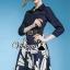 "Vivivaa recommend ""Bluely flora skirt denim dress"" thumbnail 4"