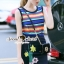 Seoul Secret Say's .... Variously Color Cami Chic Set with Bloom Stick Skirt thumbnail 1