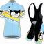 **สินค้าพรีออเดอร์**ชุดปั่นจักรยาน vanderkitten สีฟ้า thumbnail 1