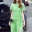 Korea Design By Lavida high quality luxury green lace long dress thumbnail 4