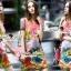 Seoul Secret Say's... Fairly Lanla Color Dress สีชมพู thumbnail 5
