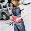 Lady Ribbon's Made Lady Olivia Urban Chic Rose Embroidered Denim Shirt Dress thumbnail 1