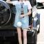Seoul Secret Say's... Nifty Denim Shirt Dress Scraffy thumbnail 3