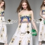 Seoul Secret Say's .... Princesslessly Cami Maxi Layer Dress thumbnail 5