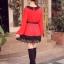 เสื้อแฟชั่น แขนยาว สีดำ รหัส 43936-แดง thumbnail 4