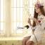 Seoul Secret Say's.. Nappy Color Bloosom Dress Shirt thumbnail 3