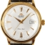 Orient Automatic White Dial Rose Gold Tone Leather Strap FER24002W thumbnail 6