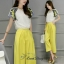 Sweet Bunny Present... Butterfly Yellow Pants Set thumbnail 3