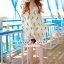 Seoul Secret Say's... Chic Yellow Blossom Sweety Dress thumbnail 4