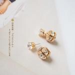 [[&#x2605พร้อมส่ง&#x2605]] ต่างหูแฟชั่น The Imperial State Crown Earring