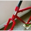 DARKROCK TOURING พันธ์แท้ / FRAME SET สีแดงสวย ๆ thumbnail 4