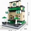 มินิโมเดลร้าน Corner Coffee