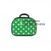 รับผลิตกระเป๋าเดินทางราคาถูก ขนาด 12 นิ้ว สีเขียวลายจุด