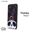 LOFTER iRing Cartoon Case #1 - Panda (iPhone7)