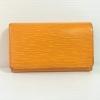 LV monogram EPI Tresor wallet